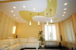Потолки натяжные: оптимальный прием выровнять потолки в квартире или офисном помещении